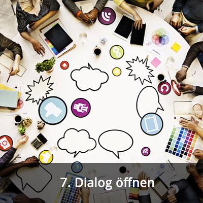 7 Dialog öffnen