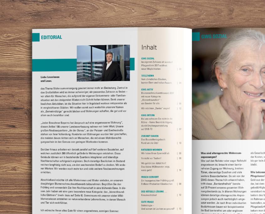 Gem. Wohnungsgesellschaft Ingolstadt GmbH Servus Nachbar Mietermagazin