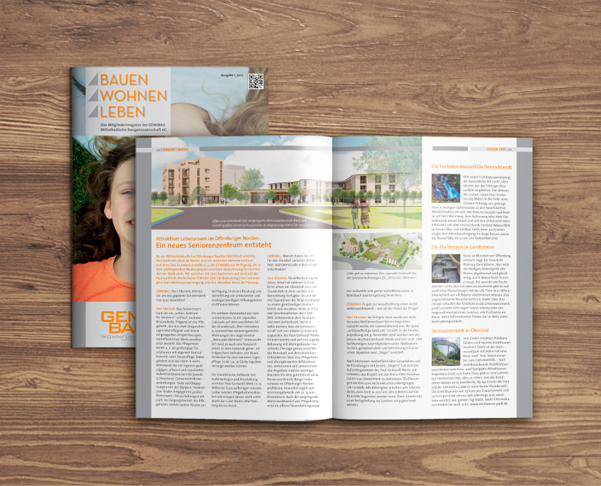 GEMIBAU Offenburg Bauen Wohnen Leben Mietermagazin