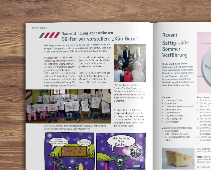 Baugenossenschaft Esslingen eg Wohnen in ES Mietermagazin