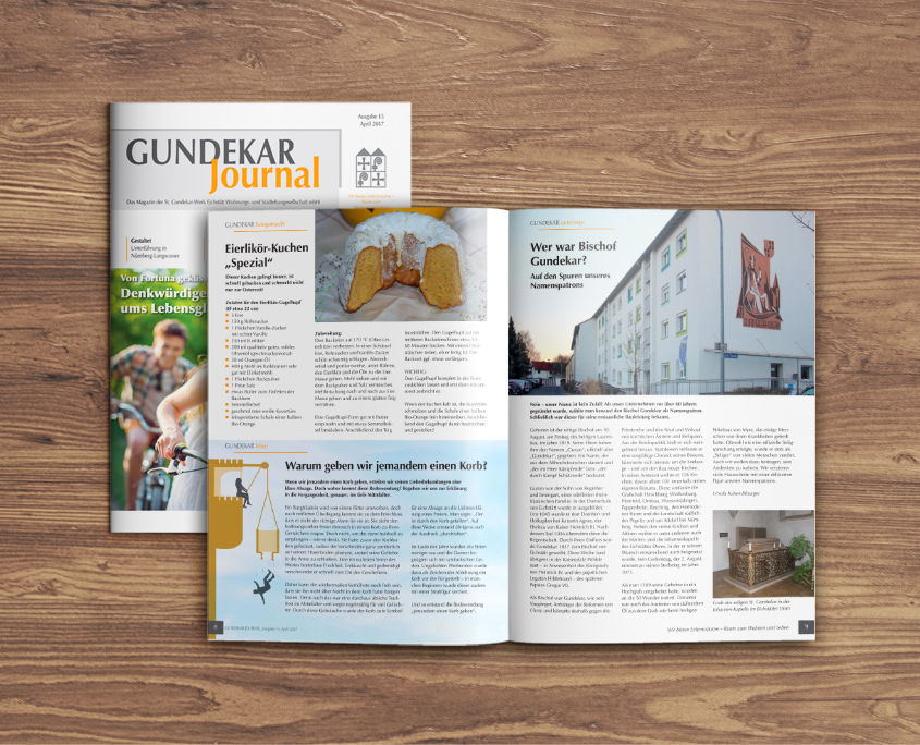 St. Gundekar-Werk Eichstätt GmbH Gundekar Journal Mietermagazin