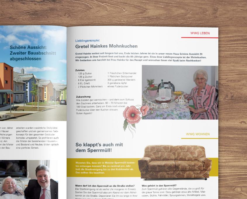 Wetzlarer Wohnungsgesellschaft mbH Unter Nachbarn Mietermagazin