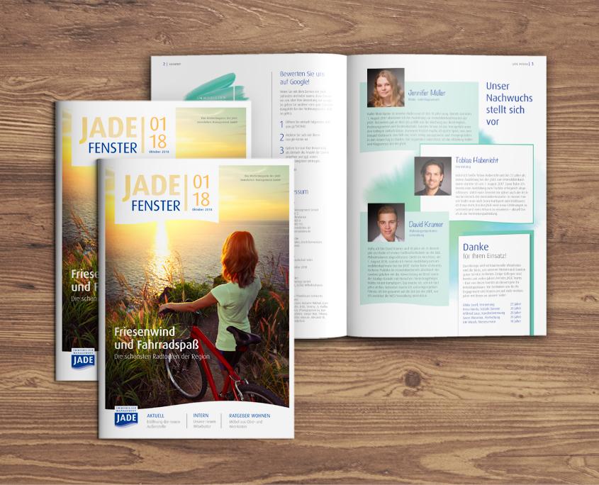 Mietermagazin JADE Fenster