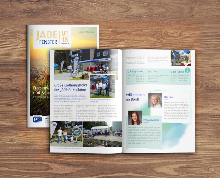JADE Immobilien Management GmbH Fenster Mietermagazin