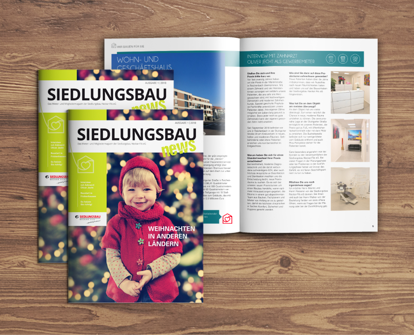 Siedlungsbau News der Siedlungsbau Neckar-Fils